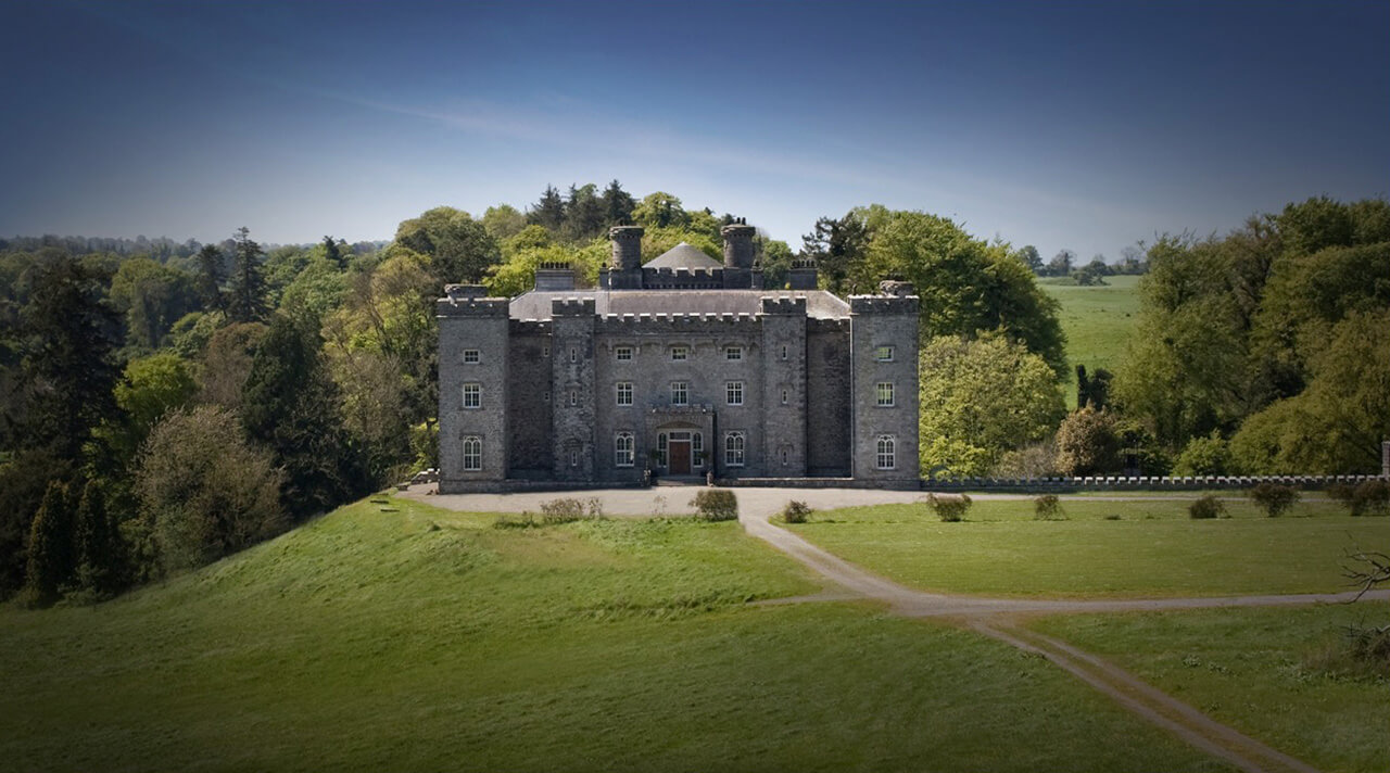 Slane Castle, by the banks of the River Boyne