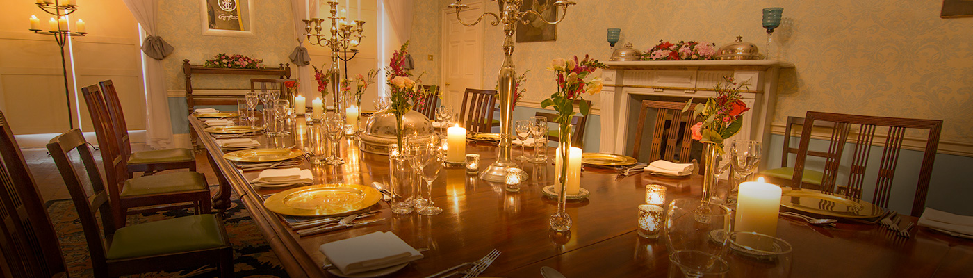 Private Dining at Slane Castle
